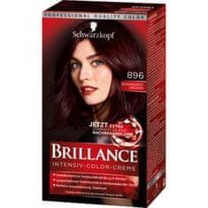 Schwarzkopf Brillance boja za kosu, 896 crno crvena čipka