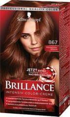 Schwarzkopf Brillance boja za kosu, 867 jesensko smeđa