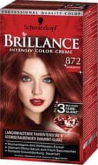 Schwarzkopf Brillance boja za kosu, 872 intenzivno crvena