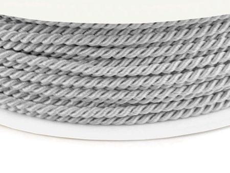 Kraftika 50m gray violet sznurek skręcany ø2,8mm