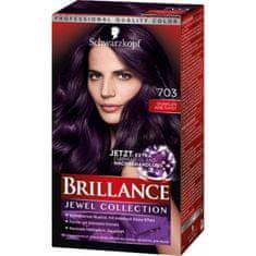 Schwarzkopf Brillance boja za kosu, 703 tamni ametist
