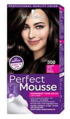 Schwarzkopf Perfect Mousse boja za kosu, 300 crno smeđa