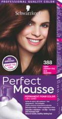 Schwarzkopf Perfect Mousse boja za kosu, 388 tamno crvenkastosmeđa