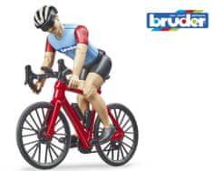 BRUDER 63110 BWORLD Cyklista na kole