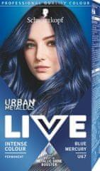 Schwarzkopf Boja za kosu Live Urban Metallics, U67 Blue Mercury