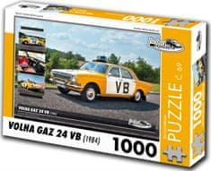 RETRO-AUTA© Puzzle č. 69 Volga GAZ 24 VB (1984) 1000 dielikov
