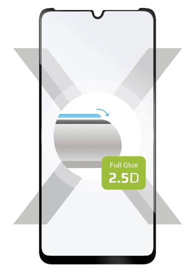 Fixed Ochranné tvrzené sklo Full-Cover pro Motorola Moto E6s 2020, lepení přes celý displej, černé FIXGFA-518-BK