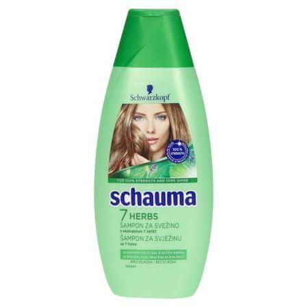 Schauma šampon 7 zelišč, 400 ml