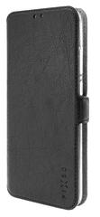 FIXED cienkie etui typu książka Topic do Xiaomi Redmi Note 9 Pro/9 Pro Max/Note 9S, czarne FIXTOP-531-BK