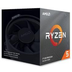 AMD Ryzen 5 3600XT procesor, 6 jezgri, 12 niti, 95 W, Wraith Spire hladnjak (100-100000281BOX)