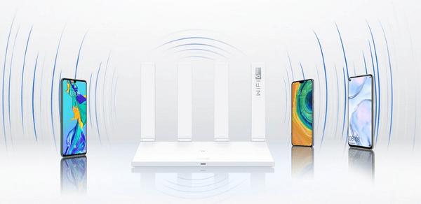 Huawei AX3 usmjerivač (AX3) Wi-Fi 2,4 GHz 5 GHz RJ45 LAN WAN IPv6 Beamforming, MU-MIMO, QOS