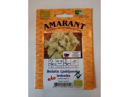 Amarant Solata Ljubljanska ledenka, ekološko seme