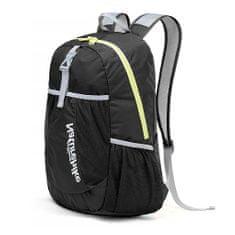 Naturehike ultralight športový zbaliteľný batoh 22l 190g - čierny