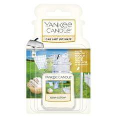 Yankee Candle gelová visačka do auta Clean Cotton
