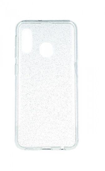 TopQ Kryt Samsung A20e silikon Crystal průhledný 53173
