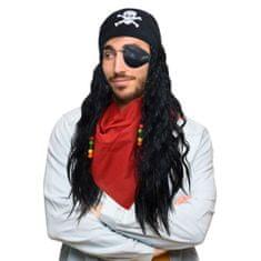 Čierna parochňa pirát so šatkou
