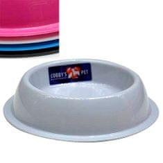 COBBYS PET SILVER plastová miska22,5x5,5cm 0,65l