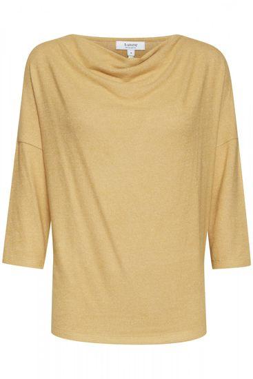 b.young dámský pulovr Sonia 20808675 XS žlutá