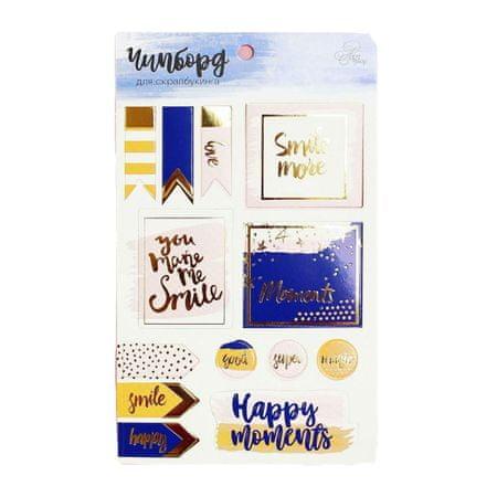 Kraftika Happy moments scrapbooking foliowanie płyta wiórowa