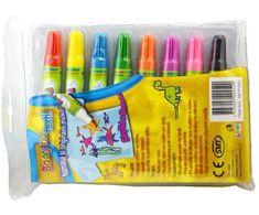 SMT Creatoys Fixy na textil na malování s dětmi (8ks),
