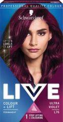 Schwarzkopf Live boja za kosu, L76 Ultra Violet