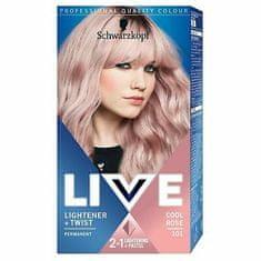 Schwarzkopf Live Lightener + Twist barva za lase, rožnato blond
