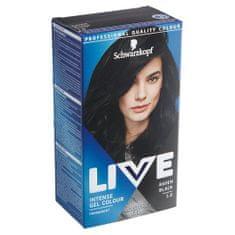 Schwarzkopf Live boja za kosu, 1.0 Raven Black