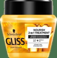 Gliss Kur Hair Repair maska za lase, Oil Nutritive, 300 ml