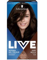 Schwarzkopf Live boja za kosu, 4.0 Dark Mocca