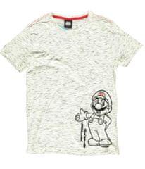Tričko Super Mario - Space Dye (velikost S)