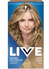 Schwarzkopf Live barva za lase, 8.0 Sandy Blond