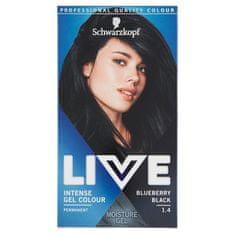 Schwarzkopf Live boja za kosu, 1.4 Blueberry Black