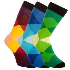 Bellinda 3PACK ponožky vícebarevné (1004-307 B)