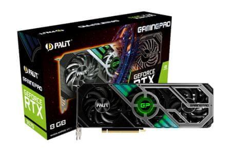 PALiT GamingPro GeForce RTX 3070 grafična kartica, 8 GB GDDR6