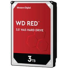 WD Red trdi disk, 3 TB, SATA III, 5400 rpm, 256 MB (WD30EFAX)