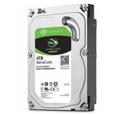 "Seagate BarraCuda trdi disk, 4TB, 8.89 cm (3.5""), SATA III, 5400 rpm, 256 MB (ST4000DM004)"