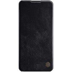 Nillkin Nillkin Qin maskica za Samsung Galaxy A21s, preklopna, crna
