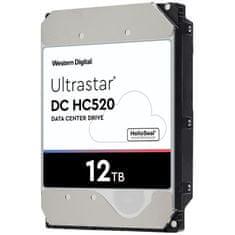 """WD Ultrastar DC HC520 trdi disk, 8.89 cm (3.5""""), 12 TB, SATA III, 7200 rpm, 256 MB"""