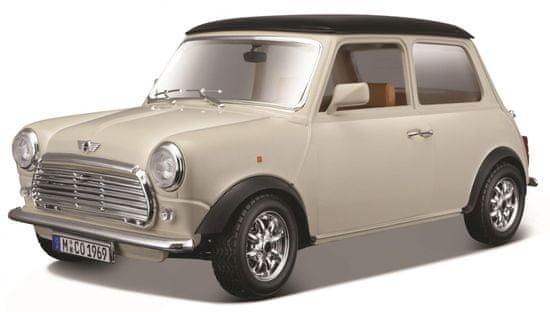 BBurago 1:18 Mini Cooper (1969) krémová