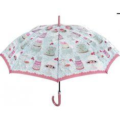 Perletti Dámsky automatický dáždnik SWEET / B (CAKES)