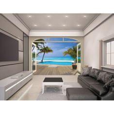 Walltastic Fototapeta 243 x 304cm PARADISE BEACH