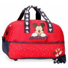 Jada Toys Športová / cestovná taška MICKEY MOUSE Red 40cm, 2533261