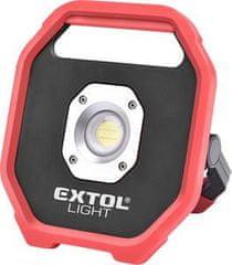 Extol Light Svietidlo nabíjateľné LED, 10W, 1200lm, 6x1,5V AA, IP54