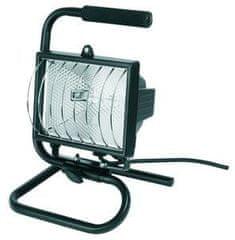 Svietidlo halogenové, príkon 500W, prenosné s podstavcom + halogenová žiarovka