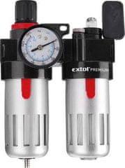 """Regulátor tlaku so vzduchovým filtrom, primazávačom a manometrom, max. pracovný tlak 8bar (0,8MPa), 1/4"""" konektor"""