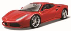 BBurago model Ferrari 488 GTB 1:18, crveni