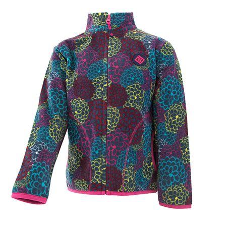 PIDILIDI bluza dziewczęca z mikropolaru 122 wielokolorowa