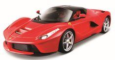 BBurago model Ferrari Signature series LaFerrari 1:18, crveni