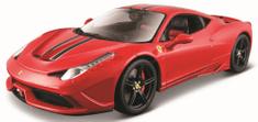 BBurago model Ferrari Signature series 458 Speciale 1:18, crveni