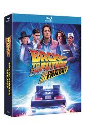 Návrat do budoucnosti kolekce 1.-3. - remasterovaná verze - (4 BD) - Blu-ray